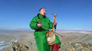 モンゴル人とホーミー