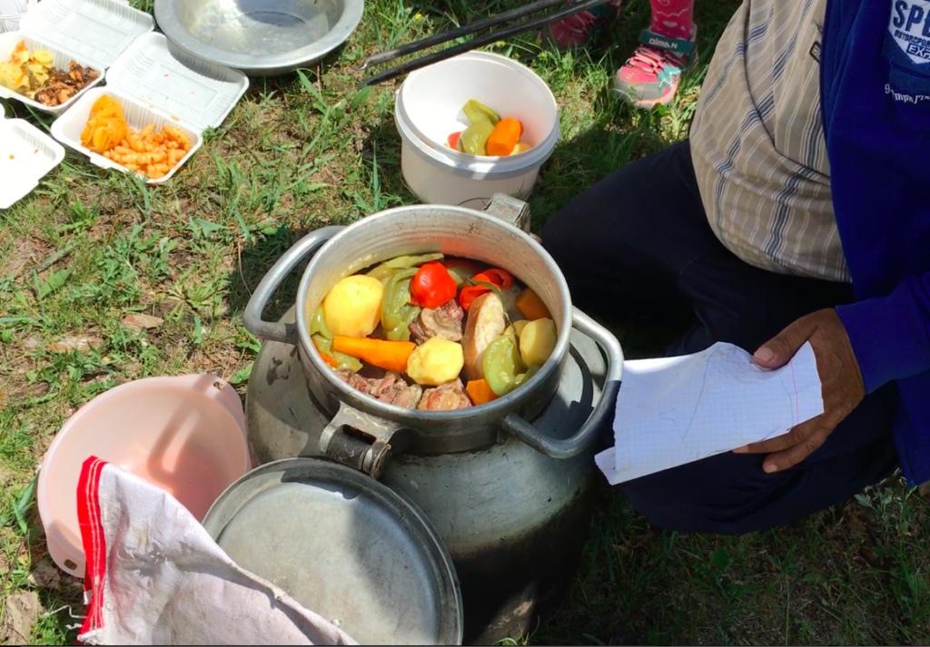 ホルホグ モンゴル料理