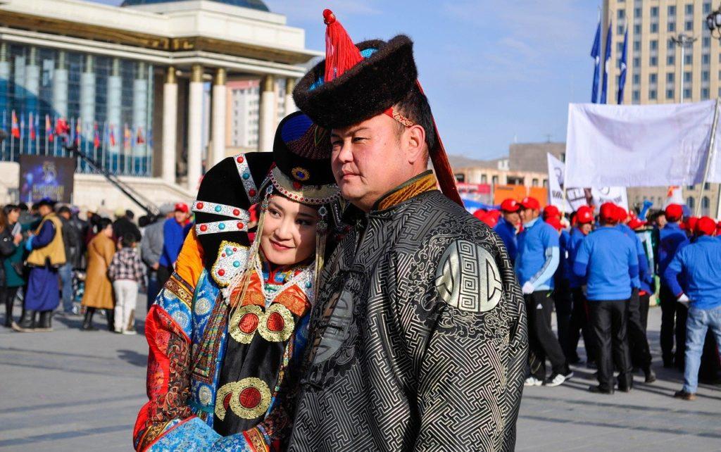 モンゴル服装