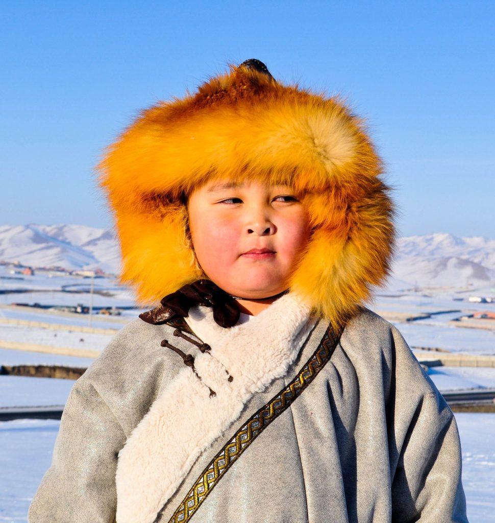 モンゴル人 子供